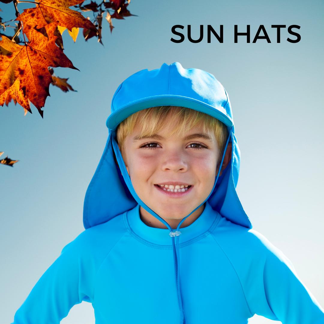 Kids Legionnaire Sun Hat UPF50+