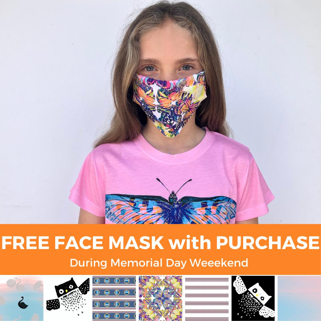 Free Kids Masks