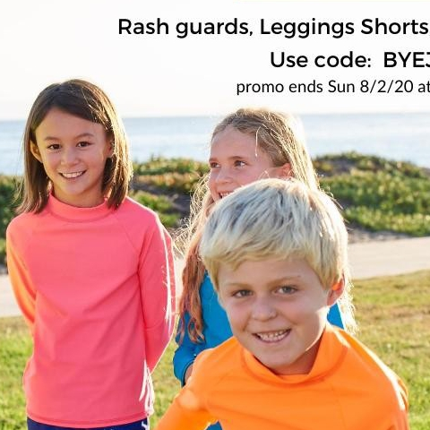 It's the last day of July, which has been #UVSafetyMonth! What plans do you have for August? How are you going to have #Funinthesun? We have a suggestion. Take advantage of our SOLID COLORS promo SAVE 15% and stock on solid color #rashguards, #leggings, #shorts, #hats and #sunglasses. Use code: BYEJULY and help yourself keep your kids protected from UV rays effortlessly. . . . #WeekendPromo #sunprotectionforkids #InternationalRetailersMonth #Shopsmall #supportindependentretailers #onlinesales #alittlebitofshopping #SunPopLife #upf50 #longsleeverashguards #sunblockingshorts #uvprotection #blockuvrays #outdoorfreedom #sunscreenalternative #betterthansunblock #sunburnprevention #kidshealth #besunsmart #familyactivities