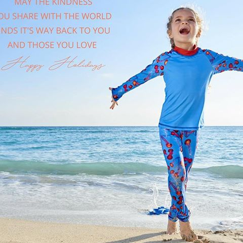 Christmas, Hanukkah, Kwanzaa, Children's Day of none. May the kindness you share with the world finds it's way to you and those you love. Sun Pop Life, sun protection your kids will actually want to wear.  #SunProtectionForKids #ChildrensDay2017 #Christmas2017 #Hanukkah2017 #Kwanzaa2017