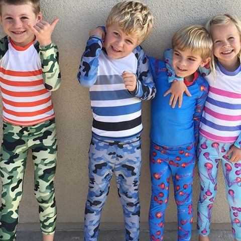 February is here. We celebrate love, family and fun times outdoor. #brotherlove #sisterlove #cousinlove #upf50kidsclothes