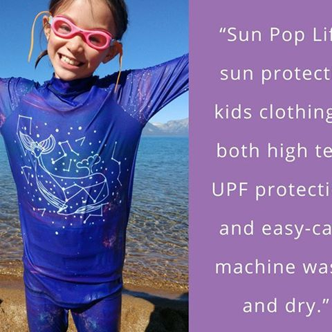 For high-tech, sun protective clothing with the highest rating available, made of easy care materials that will stand the test of time no matter what, check out Sun Pop Life, UPF 50+ sun protection kids want to wear.  #sunpoplife #sunprotectionforkids #kidssunprotection #sunprotectiveclothing #kidsbeachwear #kidsactivewear #activelifestyle #familyfun #UPF50 #whales #cosmos #constellations #cetus #easycare #madeinUSA #hightech #nevadabeach #fashioncolor #tweensrashguards #girlsrashguards #girlsleggings #UPF50leggings #tweengirlleggings #beachfashions #happyfourth #safefununderthesun  https://www.sunpoplife.com/news/easy-care-materials/