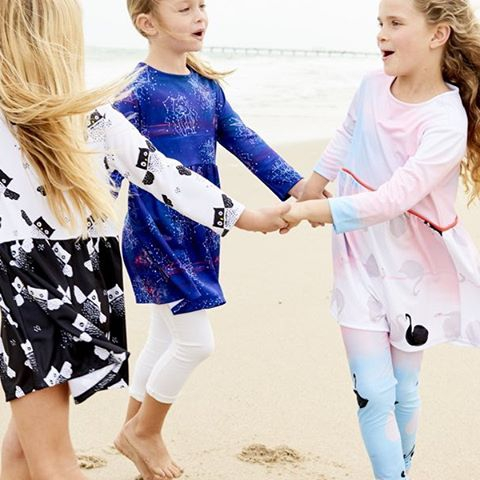 Girls love dresses.  Dressed up or down for day or night for every occasion with a little imagination.  Paired with shorts or matching leggings, over a swimsuit or to celebrate a friend's birthday.  Quick dry moisture-wicking jersey fabrics that are super comfortable and easy to wear. Shop dresses  https://store.sunpoplife.com/collections/dresses #sunpoplife #girlsdresses #girlshorts #girlsleggings #UPF50leggings #kidsathleisurewear #beachlooksforgirls #girlsbeachwear #girlsactivewear #girlsactiveplay #beachfashions #moisturewicking #quickdry #madeinUSA #swans #owls #cosmos #girlscapsulewear #ringoroundtherosie