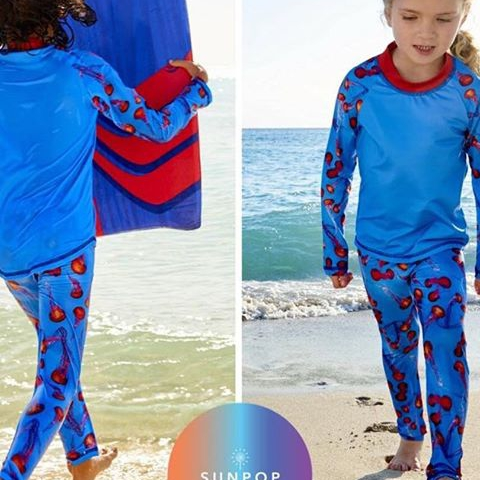 If you like jellyfish be advised, JULY4 code brings a great surprise.  Get our beloved unisex Red Jellyfish 2pc Rash Guard Set and enjoy instant UPF 50+ mess-free sun protection your kids will love.  #kidssunprotection #kidsbeachlife #sunprotectiveclothing #kidsactivewear #kidsbeachwear #jellyfish #activegirls #activeboys #girlsrashguards #boysrashguards #girlsleggings #upfleggingsforboys #kidsleggings #UPF50leggings #happyfourth  #protecttheirskin #startthemearly#safefununderthesun #instantsunprotection #july4 #messfreesunscreen #4thofjuly