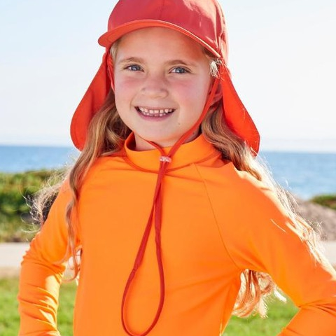 For the ultimate sun protection, start from the top! Check out our new kids' legionnaire sun hats! They provide a comfortable fit and stay in place through wind or waves!  #sunpoplife #topictuesday #kidssunhats #upf50sunhats #sunhatsforkids #unisexhatsforkids #kidshats #boyshats #girlshats #kidssunprotection #featuredproduct #christmasgifts #giftseason #givethegiftofsunprotection #windandwaves #orange #brightcolors #teachthemearly #goodhabits #december