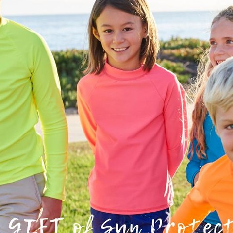 Join the fun! Introducing solid color, sun protective rash guards, perfect for your kids to mix and match with their favorite pieces. Give the gift of sun protection and uninterrupted fun while fostering a healthy lifestyle! And don't forget to check out our website for a special featured product!  #sunpoplife #christmas #shopwisely #solidcolors #solidcolorrashguards #kidsrashguards #kidshats #kidssunprotectivehats #givethegiftofsunprotection #christmasgifts #giftseason #mixandmatch #healthylifestyle #jointhefun #uninterruptedfun #featuredproduct #kidsgifts #kidsathleisurewear #kidssunprotectiveclothing #kidshybridwear #teachthemearly #goodhabits #endof2018 #december