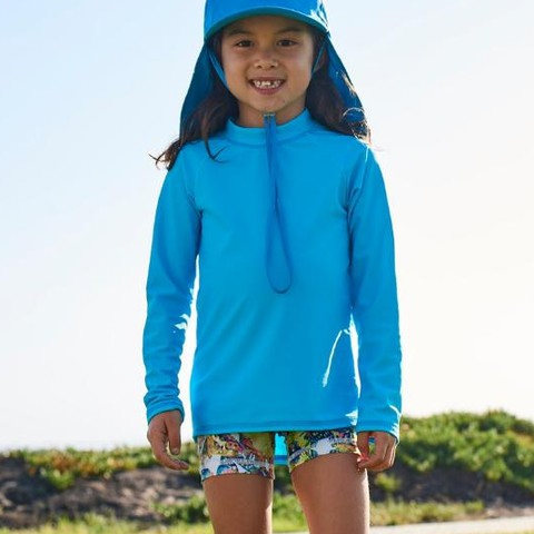 Start off 2019 with our new solid color rash guards and stylish kids' legionnaire hats! For ultimate sun protection in your kids' everyday wear, we have them covered! #sunpoplife #kidssunprotection #kidsrashguards #brightcolorrashguards #kidseverydaywear #kidsathleisurewear #kidshappiness #kidssports #familyactivities #giftseason #givethegiftofsunprotection #teachthemearly #goodhabits #mixandmatch #kidfashion #kidstyle #blue #islandblue #kidshats #january #2019 #happynewyear!