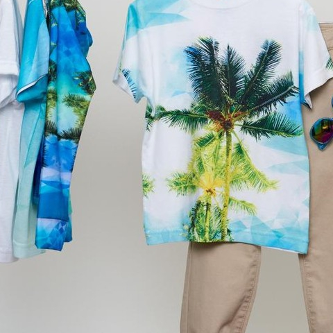 Don't forget about our awesome geo-tropical collection!  #sunpoplife #kidssunprotection #kidstshirts #kidseverydaywear #kidsathleisurewear #kidshappiness #kidssports #familyactivities  #teachthemearly #goodhabits #mixandmatch #kidfashion #january #2019 #isla #azul #verde #aventuradeniños #islandvibes #palmtrees #tropical