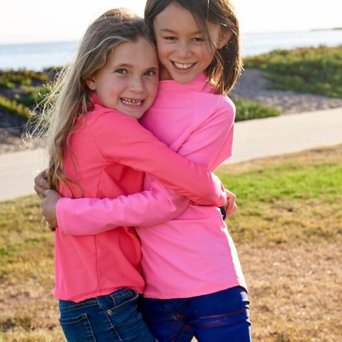 Sugar and spice, and everything nice! Merry Christmas eve from yours truly!  #sunpoplife #kidssunprotection #kidsrashguards #brightcolorrashguards #kidseverydaywear #kidsathleisurewear #kidshappiness #kidssports #familyactivities #pink #girlsrashguards #friends #christmasgifts #giftseason #givethegiftofsunprotection #teachthemearly #goodhabits #winterbreak #christmaseve #sugarandspice #december