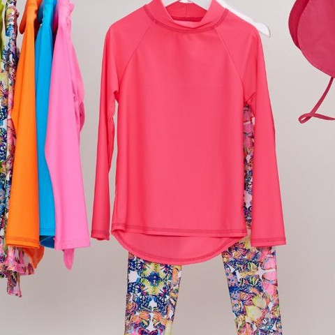 Wardrobe Wednesday! Our butterflies were a hit! Your girls can match their favorite pieces with our new solid colors and never get bored!  P.S. Don't forget about our stylish new kids' legionnaire hats!  #sunpoplife #wardrobewednesday #kidssunprotection #kidsrashguards #brightcolorrashguards #kidseverydaywear #kidsathleisurewear #kidshappiness #kidssports #familyactivities #girlsrashguards #girlsleggings #giftseason #givethegiftofsunprotection #teachthemearly #goodhabits #winterbreak #mixandmatch #pink #butterflies #girlstyle #girlfashion #december