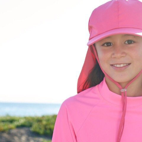 Sun protection starts from the top! Check out our new stylish UPF 50+ kids' legionnaire sun hats! The perfect accessory to protect multiple areas at once. The best part is the toggled chin strap to ensure the hat stays in place every time -so it won't fly away with the wind or get lost in the waves.  Sun Pop Life, sun protection your kids want to wear and you will love.  #sunpoplife #kidssunprotection #kidsrashguards #girlspinksunhats #brightcolorrashguards #kidseverydaywear #kidslegionnairesunhats #kidsathleisurewear #kidshappiness #kidssports #familyactivities #givethegiftofsunprotection #teachthemearly #goodhabits #mixandmatch #kidfashion #kidstyle #truepink #kidshats #january