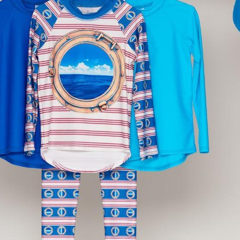Mix and match all your favorites with our new solid color rash guards!  #sunpoplife #kidssunprotection #kidsrashguards #brightcolorrashguards #kidseverydaywear #kidsathleisurewear #kidshappiness #kidssports #familyactivities #kidsoutdoorsports #teachthemearly #goodhabits #mixandmatch #blue #islandblue #royalblue #horizon #kidfashion #january #2019 #proteccionsolar #sol #ropaupf #sombreroupf #aventuradeniños #ropaconproteccionsolar #protejetupiel