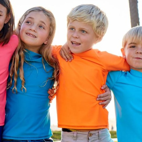 Life is like a box of crayons, and our rash guards too!  #sunpoplife #kidssunprotection #kidsrashguards #brightcolorrashguards #kidseverydaywear #kidsathleisurewear #kidshappiness #kidssports #familyactivities #kidsoutdoorsports #teachthemearly #goodhabits #mixandmatch #colors #kidfashion #january #2019