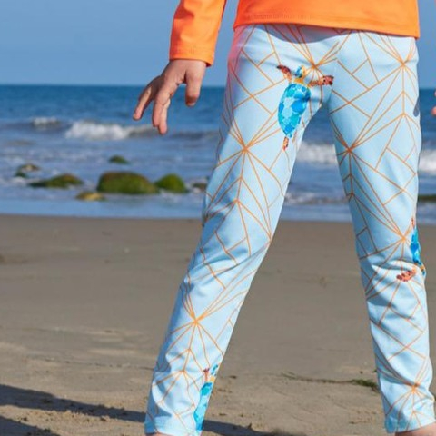 Did you Know …  UPF 50+ Leggings are not only for surfing or going to the beach or pool. They protect kids's legs from ultraviolet sun rays, water, weather, rough surfaces and all elements.  #sunpoplife #sunprotection #kids want to wear and parents love #kidsupfclothing #swimwear #kidsactivewear #kidssurfpants #kidsleggings #upfleggings #saveseaturtles #turtleleggings #seaturtles #smallproduction #avoidsundamage #beach #eco #sunsafe #moisturewicking #chemicalfreefabric #quickdry