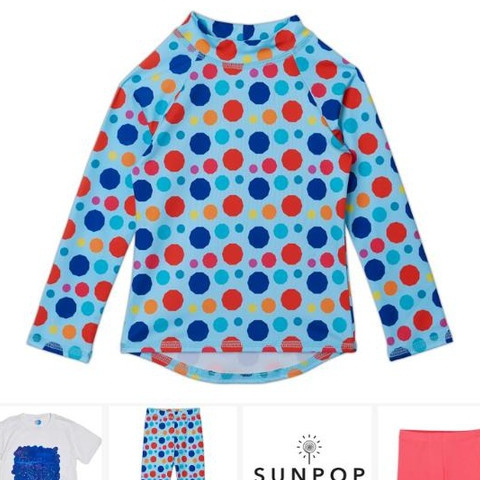 The Dots Collection for girls is a burst of color in itself. Circular geometrical dots update the classic polka dot print in a versatile way to mix and match with solids or other prints.  If you love dots as much as I do, be aware that this is the best polka dot rendition for a head to toe look.  #sunpoplife #classicwithatwist #polkadots #inspiration #trends #geometricalcircles #toddlergirl #girls #teenagegirl #youthgirl #uvclothing #surfleggings #girlsswimsuits #girlsactivewear #girlshybridclothes #girlsswimwear #uvswimwear #girlsrashguards #girlsswimpants #girlsleggings #polkadotsswim #dottrend #dotstyle #uvswimwear #wardrobewednesdays #upf50plus #giftideas #smallbusiness #nationalentrepreneursmonth #november