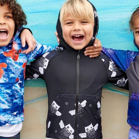 Our hoodies add another layer of multi-functionality, warmth and cool to our sun protective collection with superb versatility. Zipped up, zipped down, layered or for any environment wet or dry.  Cut and paste the link below to save 30% when you shop any of our HOODIES or use code LOVEHOODIES at check out. Offer starts Tuesday 11/5 12:01am and ends Sun 11/10 11:59pm.  https://store.sunpoplife.com/discount/LOVEHOODIES?redirect=%2Fcollections%2Fhoodies  #sunpoplife #kidshoodies #girlshoodies #swan #pastelcolors #owls #blackandwhite #constellations #purple #boyshoodies #koifish #blue #butterflies #multicolor #modernmariner #denim #geotropical #shadesofblue #palmtrees #upf50plus #giftideas #thirdyear #recycle #thanksgiving #blackfriday #smallbusiness #entrepreneurs #nationalentrepreneursmonth #november