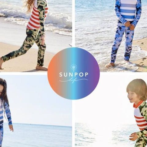 """I love Sun Pop! The camo print is my fave, we have both colors and now all 3 sizes! We live in front of the beach and my son lives in your rash guard sets. When are you launching Adults? I have been waiting for 3 years."" #kidssunprotection #teachthemearly #kidsrashguards #sunpoplifeclassics #kidseverydaywear #blue #green #kidsathleisurewear #kidssports #familyactivities #bluecamo #greencamo #camoprint #rashguards #upf50plus #giftideas #thirdyear #recycle #thanksgiving #blackfriday #smallbusiness #nationalentrepreneursmonth #november"