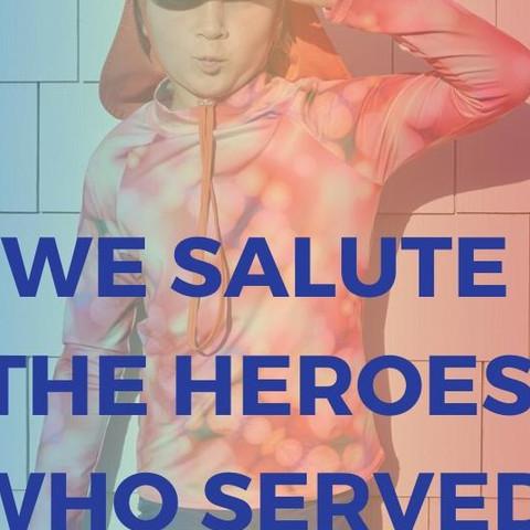 Veterans Day 2019  #ourheroes #freedom #liverty #november #sunpoplife #chemicalfree #sunprotection #kids want to wear #parents and #grandparents love #upf50plus #all-in-one #kidsathleisurewear #kidsswinsuits #kidsactivewear #kidshybridclothes #kidssswimwear #kidsbeachwear #kidshybridclothes #kidssrashguards #kidsurfpants #upfleggings #2pcsrashguardsets #kidssunhats #legionnairehats #avoidsundamage #longlastingsunprotection #nationalentrepreneursmonth #smallbusiness #veteransday