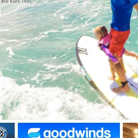 "Goodwinds Watersport Dorado Beach Resort. A family-owned business by Phil & Karla. He is an extreme sports lover, and she is a windsurfer ex-olympian leading a fantastic team and offering the best watersports instruction and experiences on the island from sailing to surfing, paddle yoga to kite surfing, or any unique water adventures imaginable. Family-approved fun for little and big kids, and they carry Sun Pop Life.  This weekend, Goodwinds Watersport is co-hosting BWRAG 2nd annual Puerto Rico Safety Summit, Nov 17 & 18, 2019. For all level surfers and ocean lovers who want to learn about ocean risk management, water rescue, and more.  Want to help a female surfer partake in the summit? Contact @Goodwindsdorado to sponsor one of four female surfers who want to support ""La Isla del Encanto"" ocean's safety efforts.  #goodwindsdorado #dorado_beach #discoverPuertoRico #familyownedbusiness #watersports #familyapproved #ritzcarltonreserve #bwrag #safetysummit #familyadventures #surfer #oceansafety #sunpoplife #upfkidsclothing #sunsafety #protejetupiel #sunburnprevention #skincancerprevention #recycle #safeinthesun #melanomaprevention #besunsmart #outdoorfreedom"
