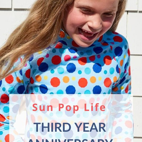 Happy Birthday Sun Pop Life!  We launched Sun Pop Life on Nov 25, 2016 three year ago. It was a Black Friday, and we had no idea what we were getting into : )  It's so fitting that our business anniversary will fall in November every year as we express our gratitude to our family, friends, customers, stores, distributors, suppliers, printers, factories, creative talent and followers who have made our dream come true! With your continued support, we'll continue providing amazing products to help you keep the children in your life safe under the sun!  P.S. Be in the look out for our newsletter.  A celebratory on-line private event and details for a contest start tomorrow.  #sunpoplife #thirdyear #kidssunprotectiveclothing #kidsrashguards #kidssunprotection #kidsleggings #kidsathleisurewear #kidsstyle #goodhabits #besunsafe #teachthemearly #morethanagift #upf50 #kidsgifts #begrateful #givethanks #healthylifestyle #smallbusiness #shopsmall #supportsmallbusinesses #nationalentrepreneursmonth #november
