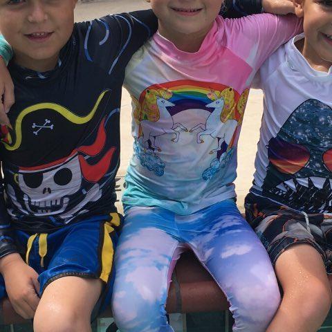 When you see a Pirate, a Shark and an Unicorn sharing a hug and a smile - you know the world in going to be fine! . . . #sunpoplife #pirate #unicorn #shark #kidswear #toddlers #boys #girls #kids #upfclothing #kidssunshirts #hybridleggings #boardshorts #kidshybridclothes #upf50plus #upfclothing #rashguards #surfleggings #safeinthesun #besunsmart #giftideas #shopwisely #giftingseason #happyholidays #madeinUSA #holidays #december