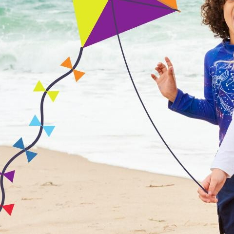 It's #NationalFlyaKiteDay!  This is a great way to get outside with your kids. Kids love flying kites, especially is they get to run around in #style! . . .  #sunpoplife #longsleevesrashguards #kidsleggings #sunblockerleggings #kidsadventures #Saturday #StyleSaturday #kites #running #active #love #February #beach #worryfreesunprotection #stressfreesunprotection #familytravel #kidsadventures #upfclothes #February #Cancerpreventionmonth #kidswear