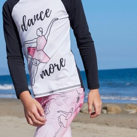 Today is #Giveakidasmileday. We love to see kids smile!  Today, take your kids somewhere they love where they can smile from ear to ear!. . . . Ballerina- dance more collection at Sun Pop Life . #girlsupfclothes #upf50sunprotection #smile #kidssmile #balletday #dancemore #Love #UPFclothing #girlshybridswimwear #sunprotectionforgirls #sunsafe #eco #protecttheirskin #rashguardset #avoidsundamage #outdoorfreedom #ootdgirls #February #ValentinesDay #Red #Pink #happykids #girlswimwear #Cancerpreventionmonth #spfclothing #sunscreenalternative #kidshealth