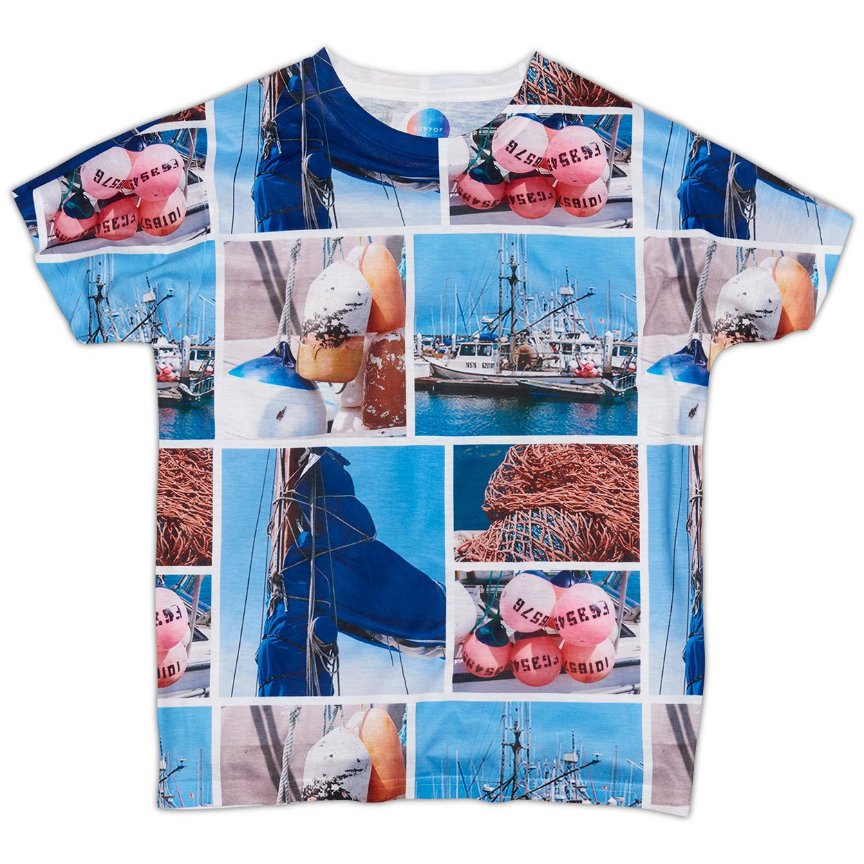 Boys Marina Photo Collage T-shirt