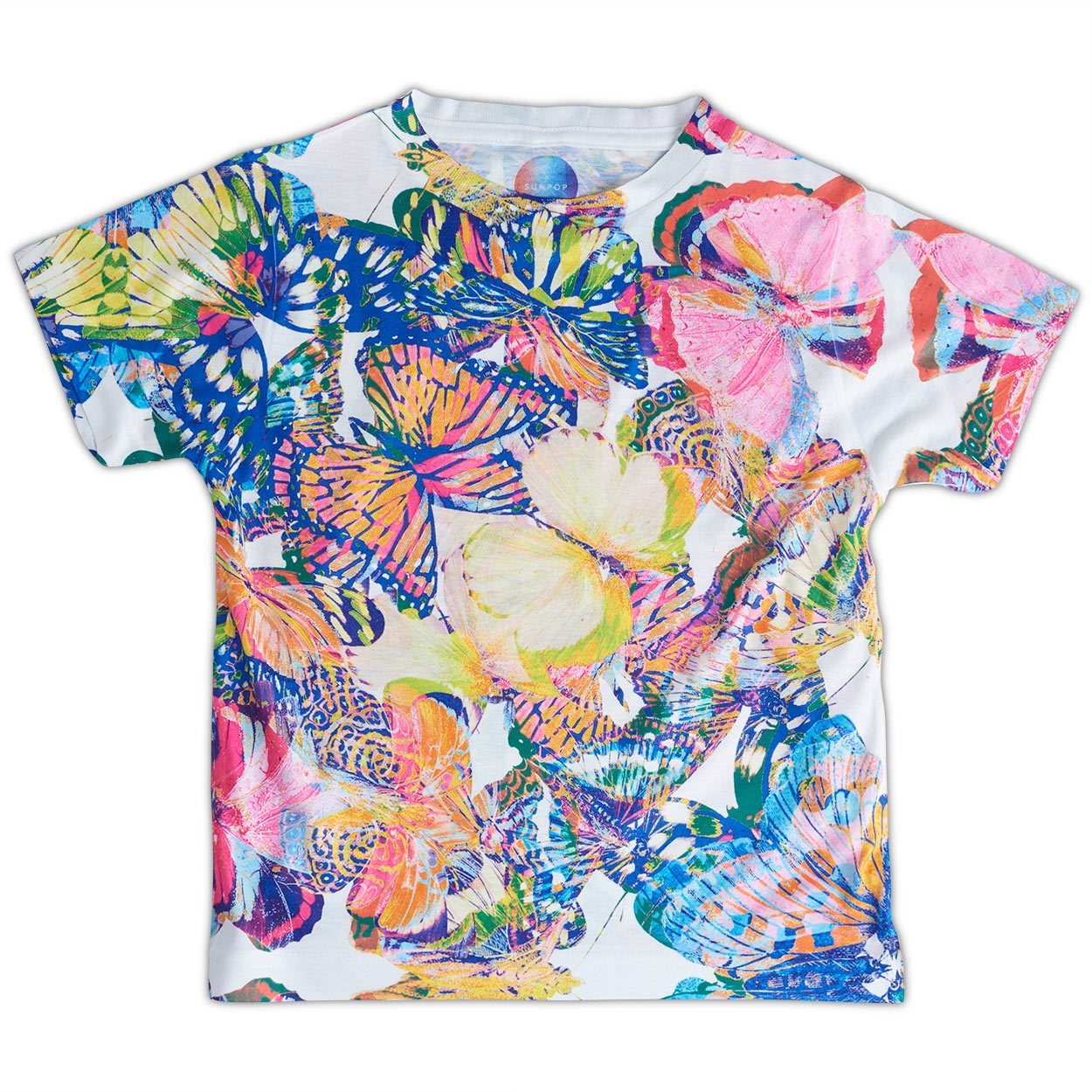 Girls Kaleidoscope Graphic T-shirt