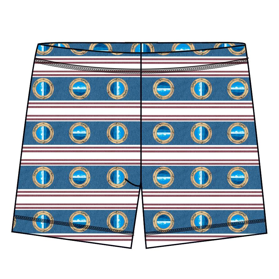 Modern Mariner Hybrid Shorts