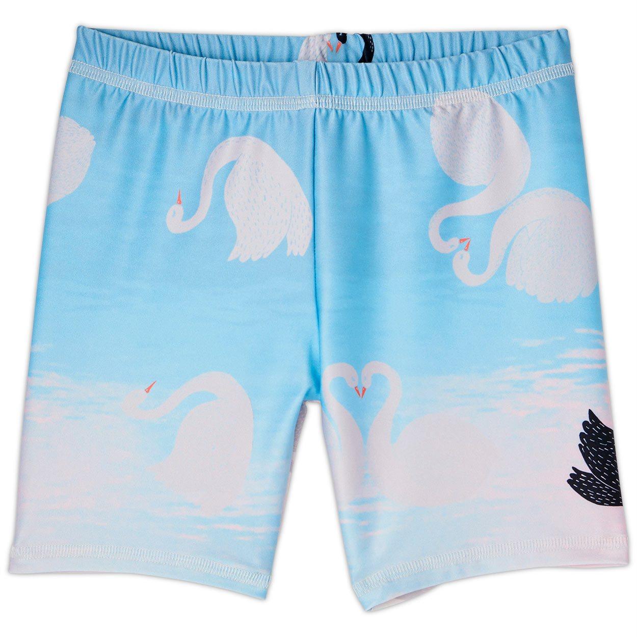 Swan Sun Blocker Shorts