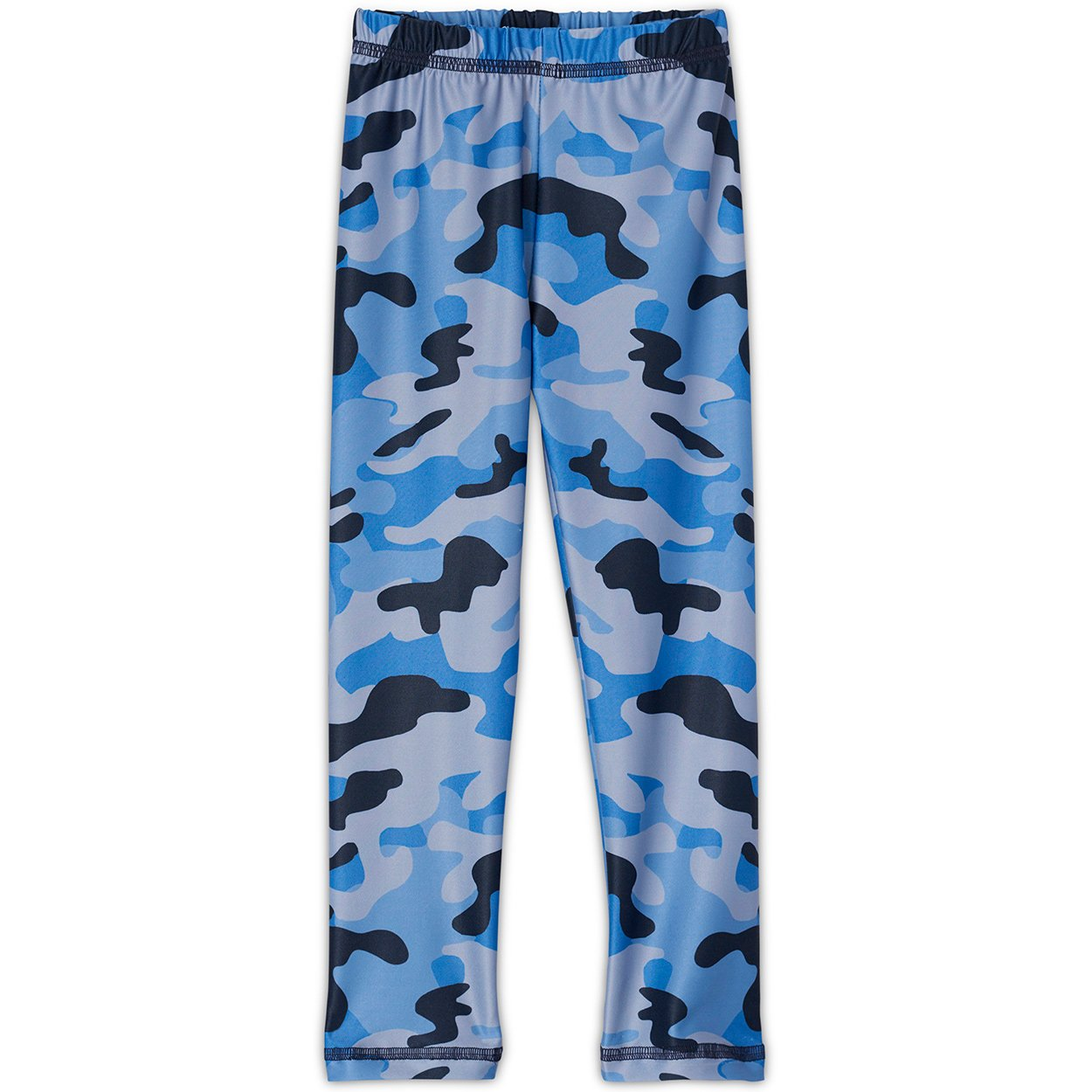 Blue Camo Leggings UPF 50+