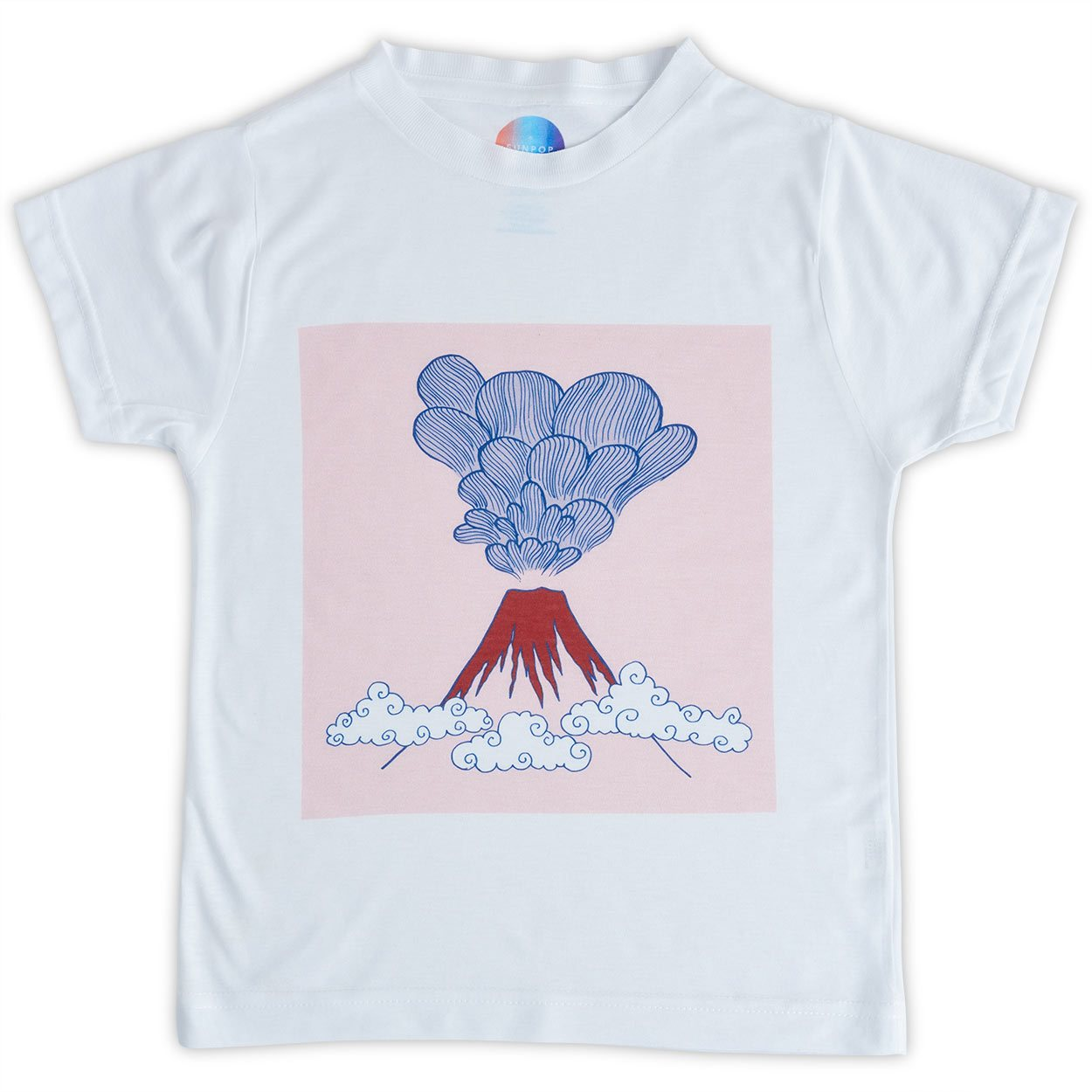 Boys Volcano Graphic T-shirt