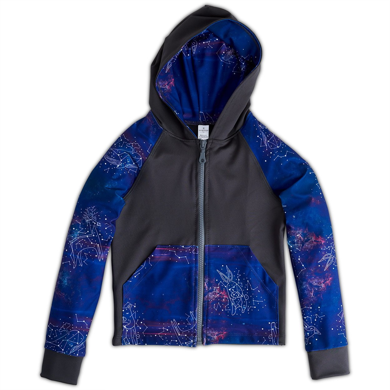 Constellations Zip Up Hoodie UPF 50+