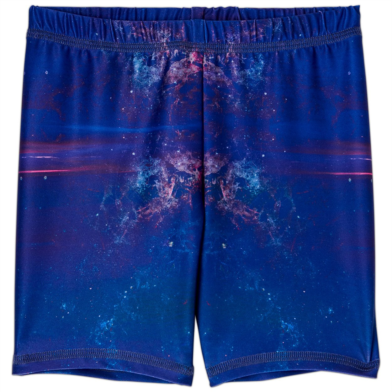 Cosmos Sunblocker Shorts Upf50 Kids Boys Girls Size 2 12 Purple Unisex Sunpoplife