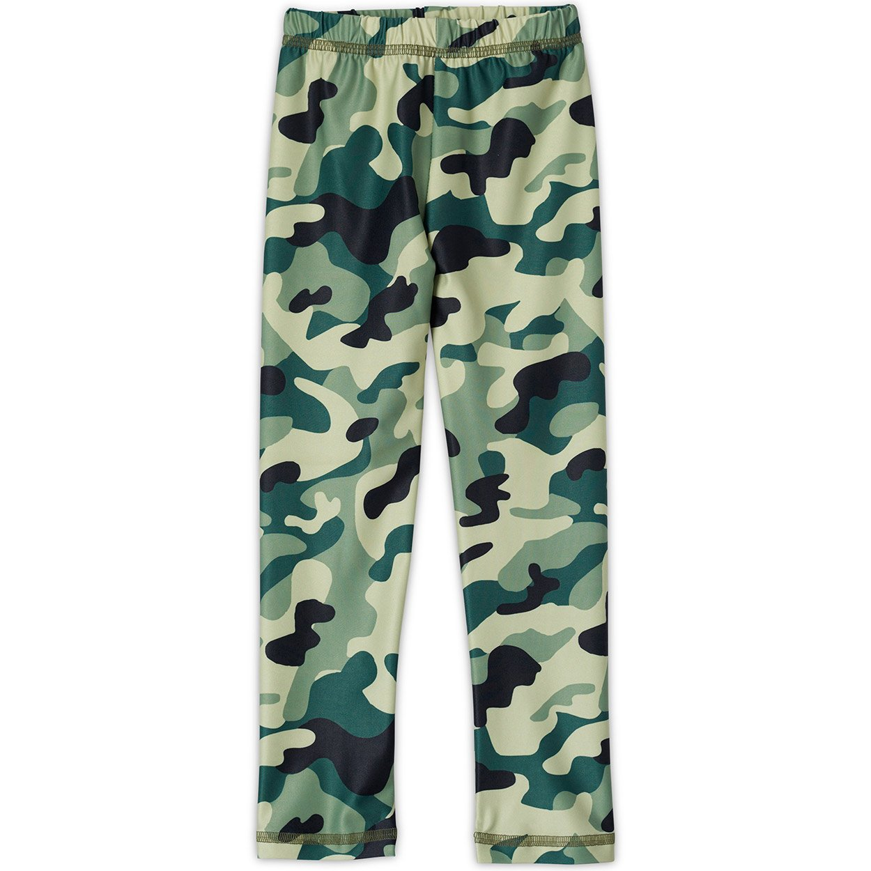Green Camo Leggings UPF 50+