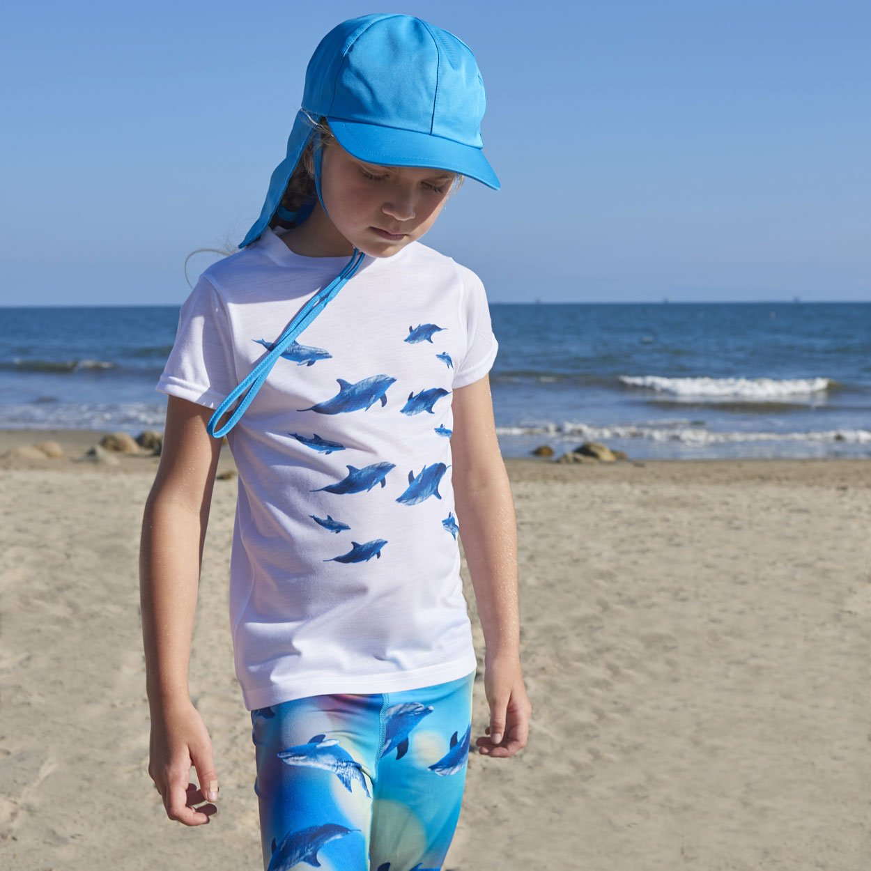 Kids Dolphins Photo T-shirt