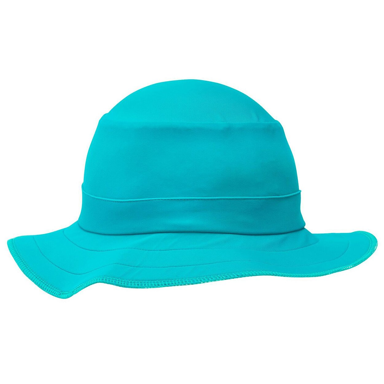 Kids Funky Bucket Hat Upf 50 By Swimlids Aqua Small Girls 2 10 Sunpoplife 2dabda2376d