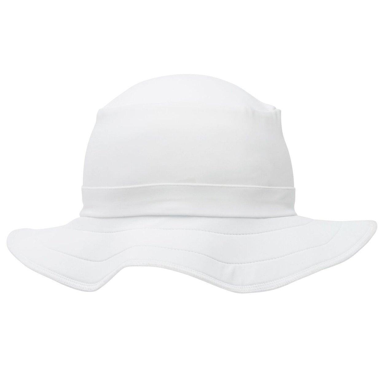 d12e5211f2f40 Kids Funky Bucket Hat Upf 50 By Swimlids White Small 2 10 Unisex Sunpoplife