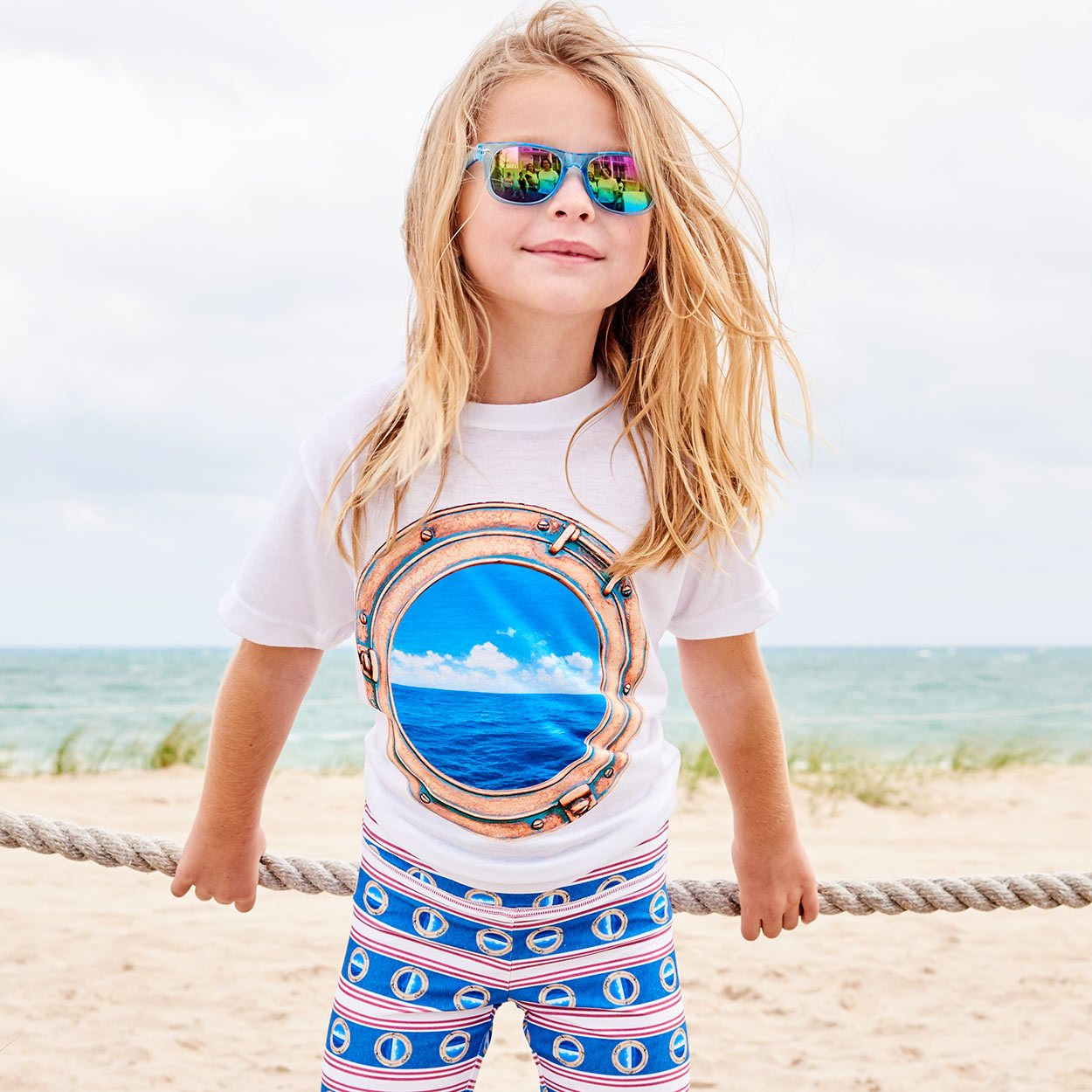 Kids Horizon Photo T-shirt