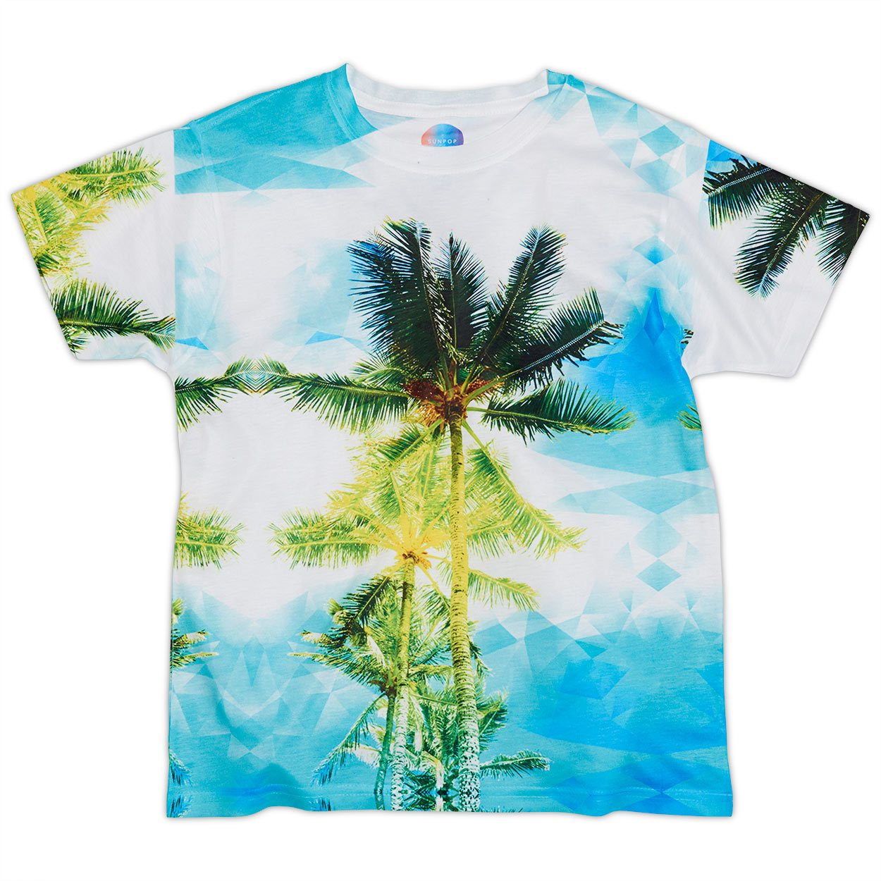 Kids Palm Trees Photo T-shirt