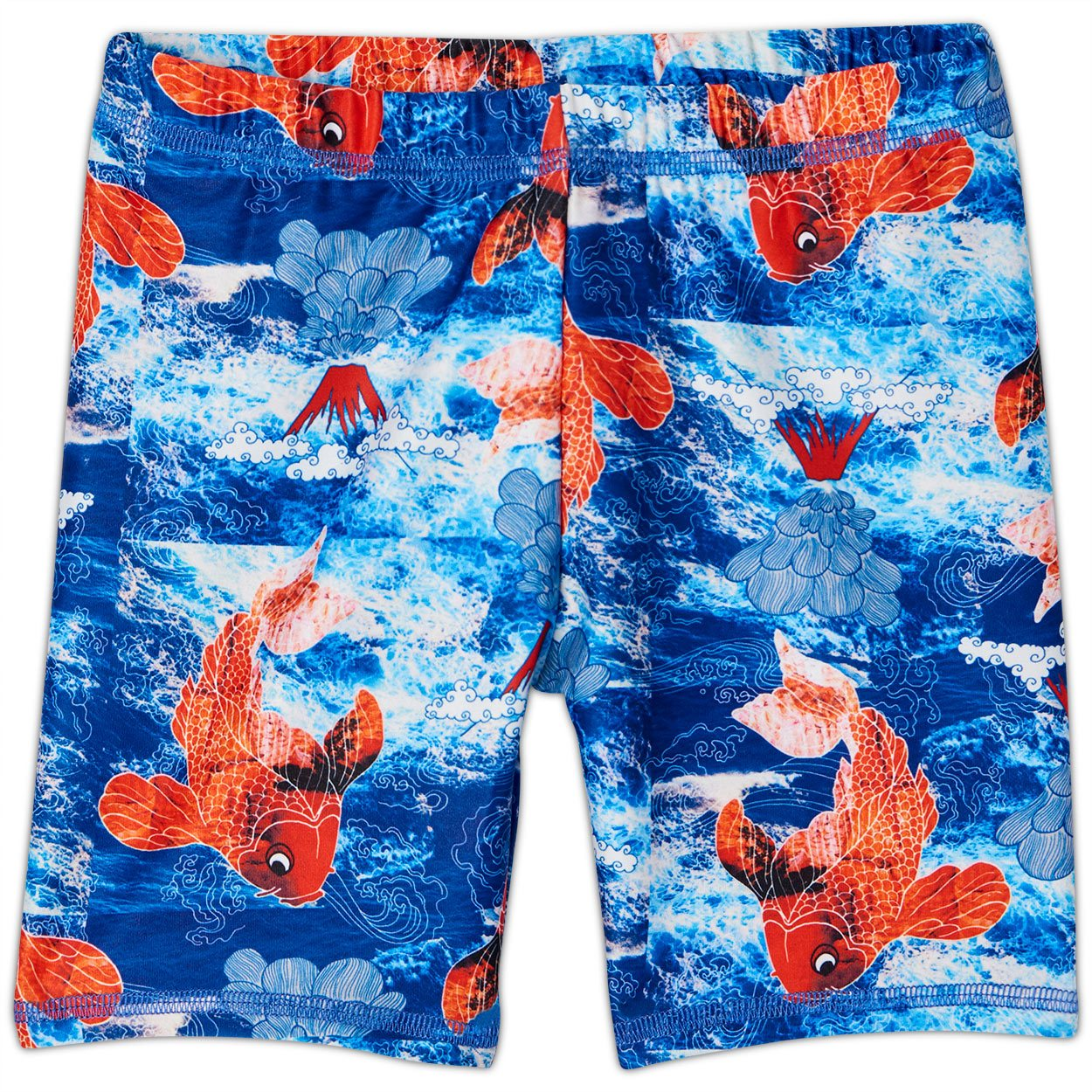 Koi Fish Sunblocker Shorts UPF 50+