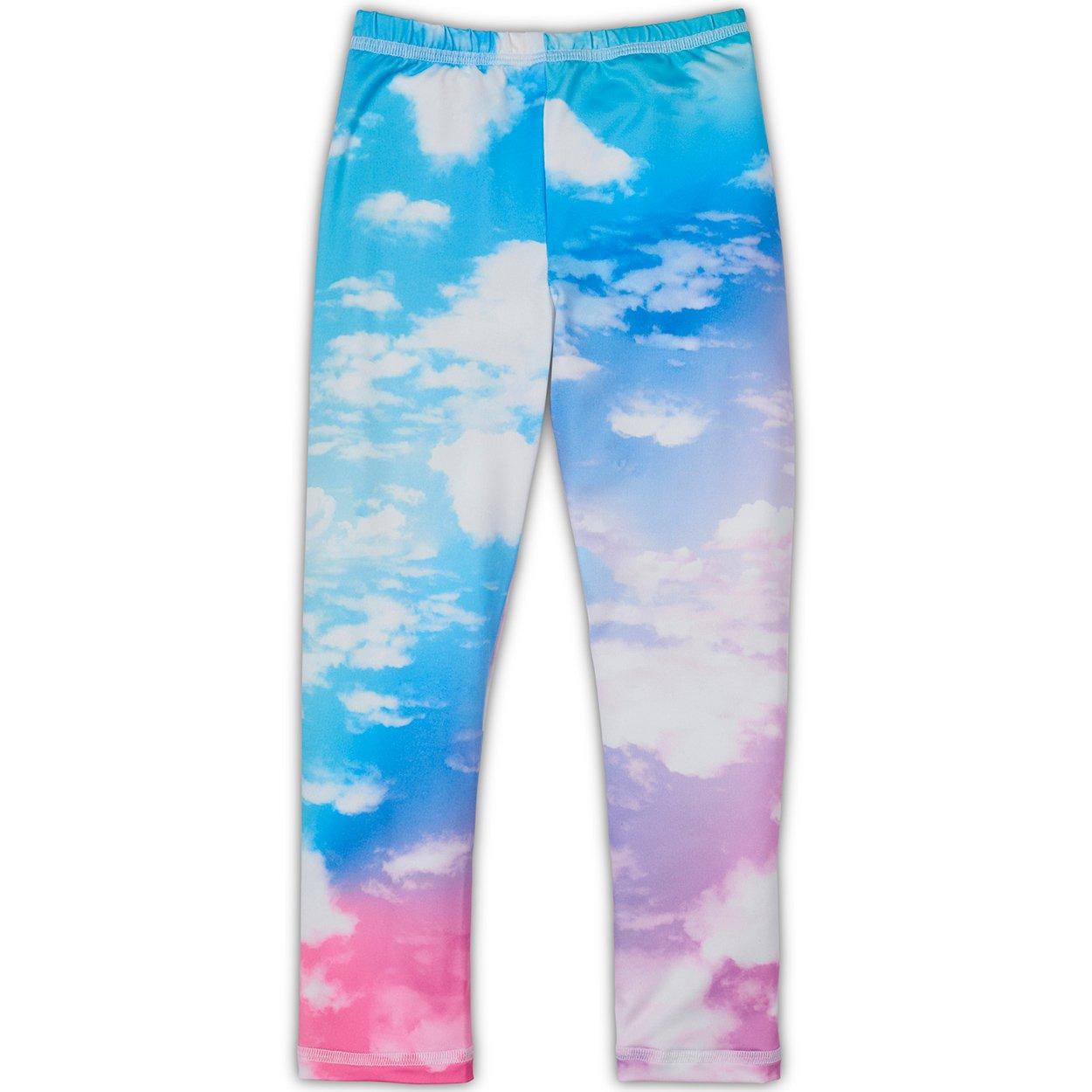 Lucky Unicorns Multicolor Leggings Girls Sunpoplife