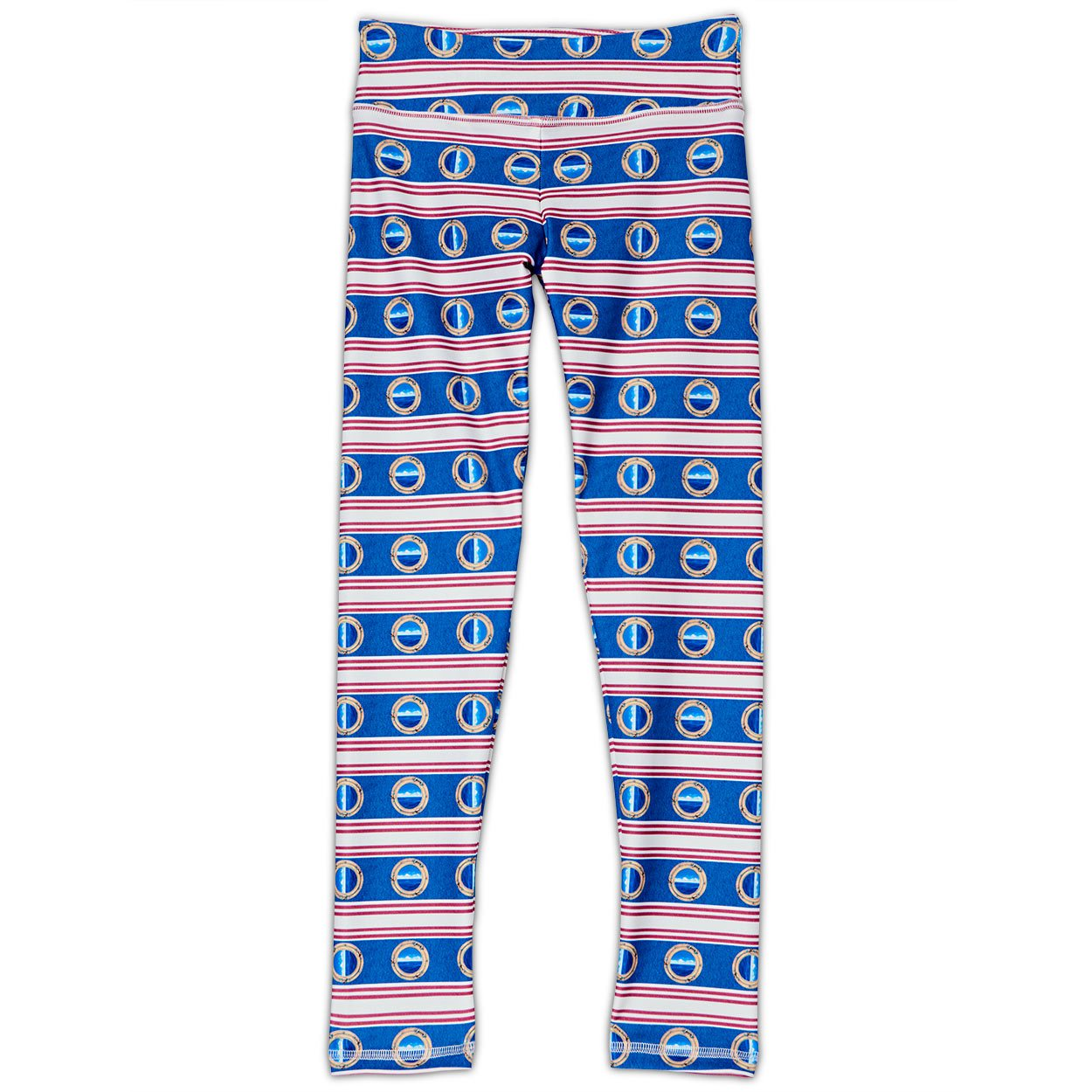 Mariner Hybrid Youth Leggings UPF 50+