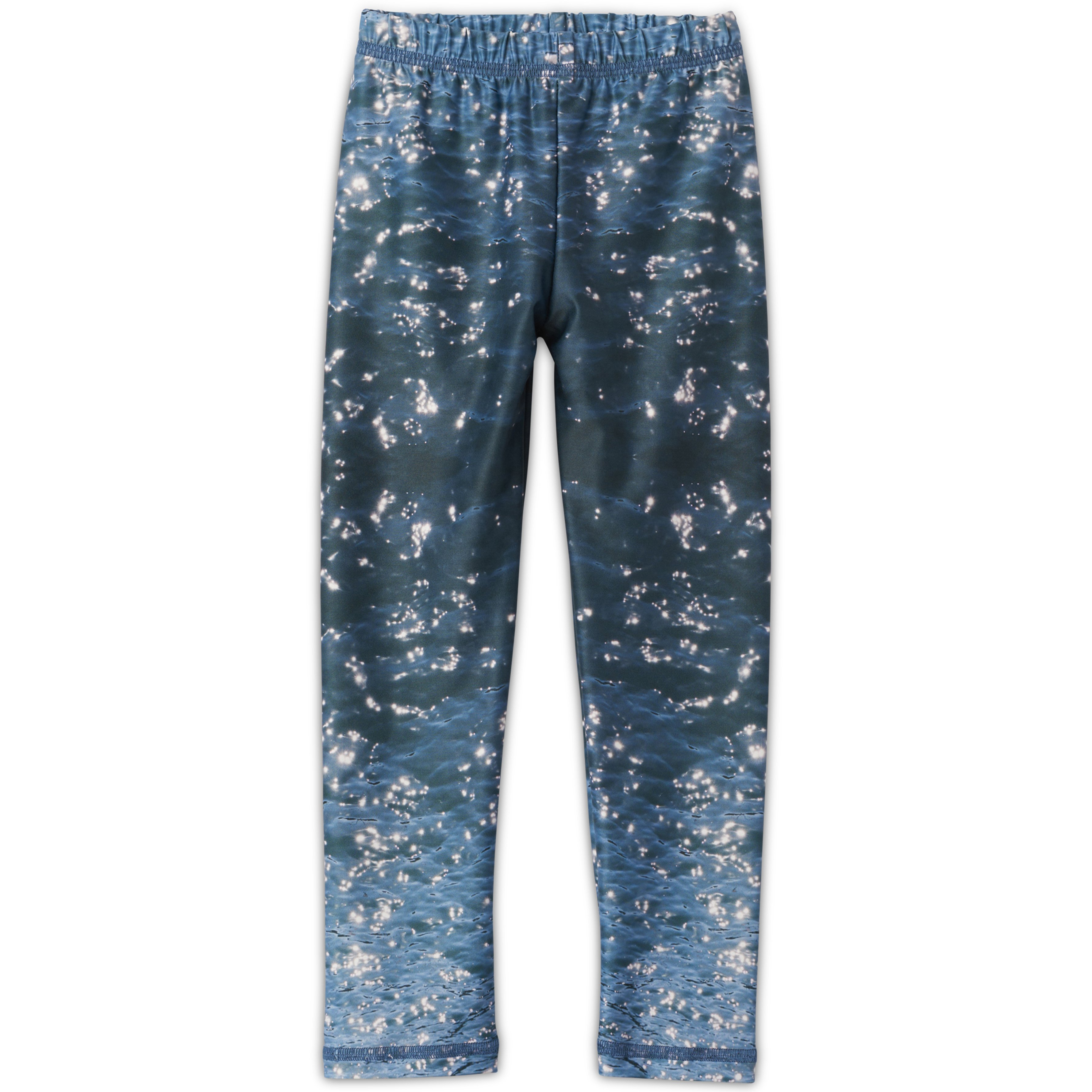 Ocean Photo Leggings Kids Sunpoplife
