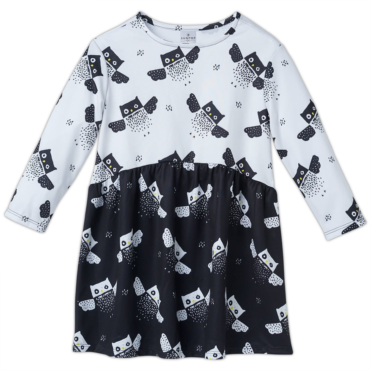 Owls Dress with Matching Shorts