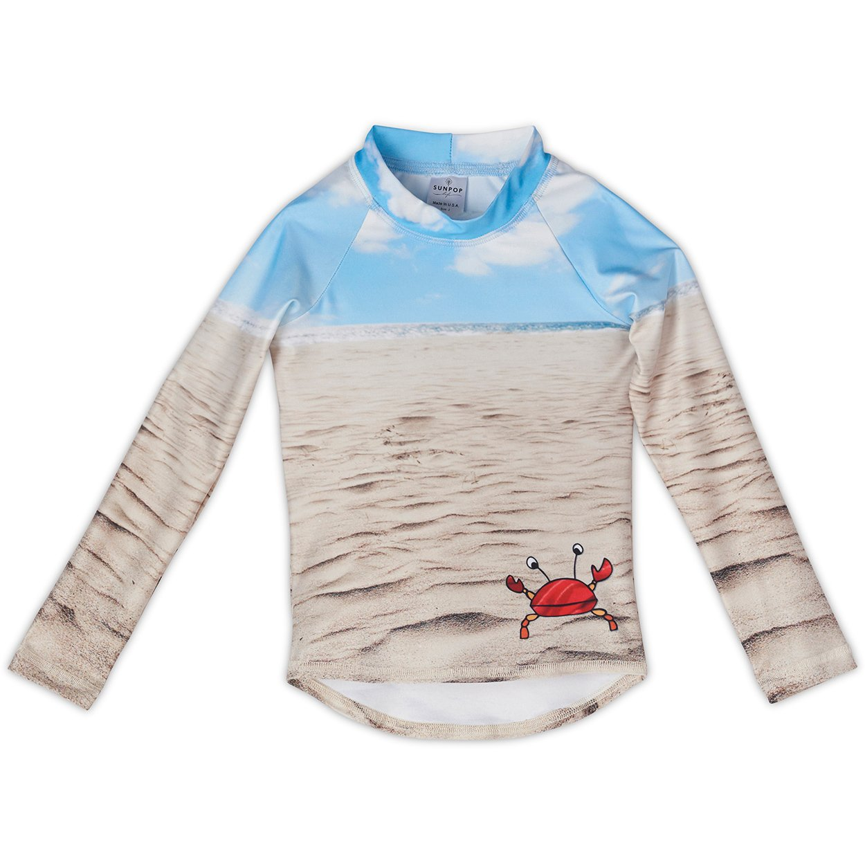 Sunny Crab Rash Guard Top UPF 50+