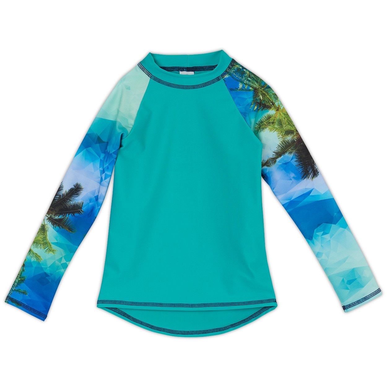 Tropical Long Sleeve Rash Guard Top UPF 50+