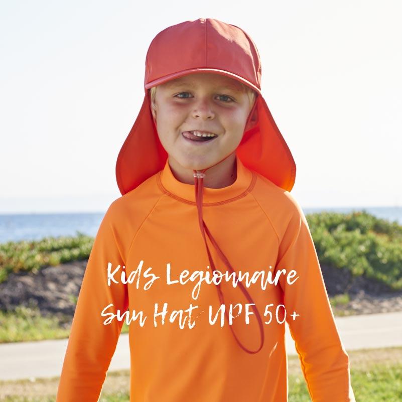 Kids Legionnaire Sun Hat UPF 50+